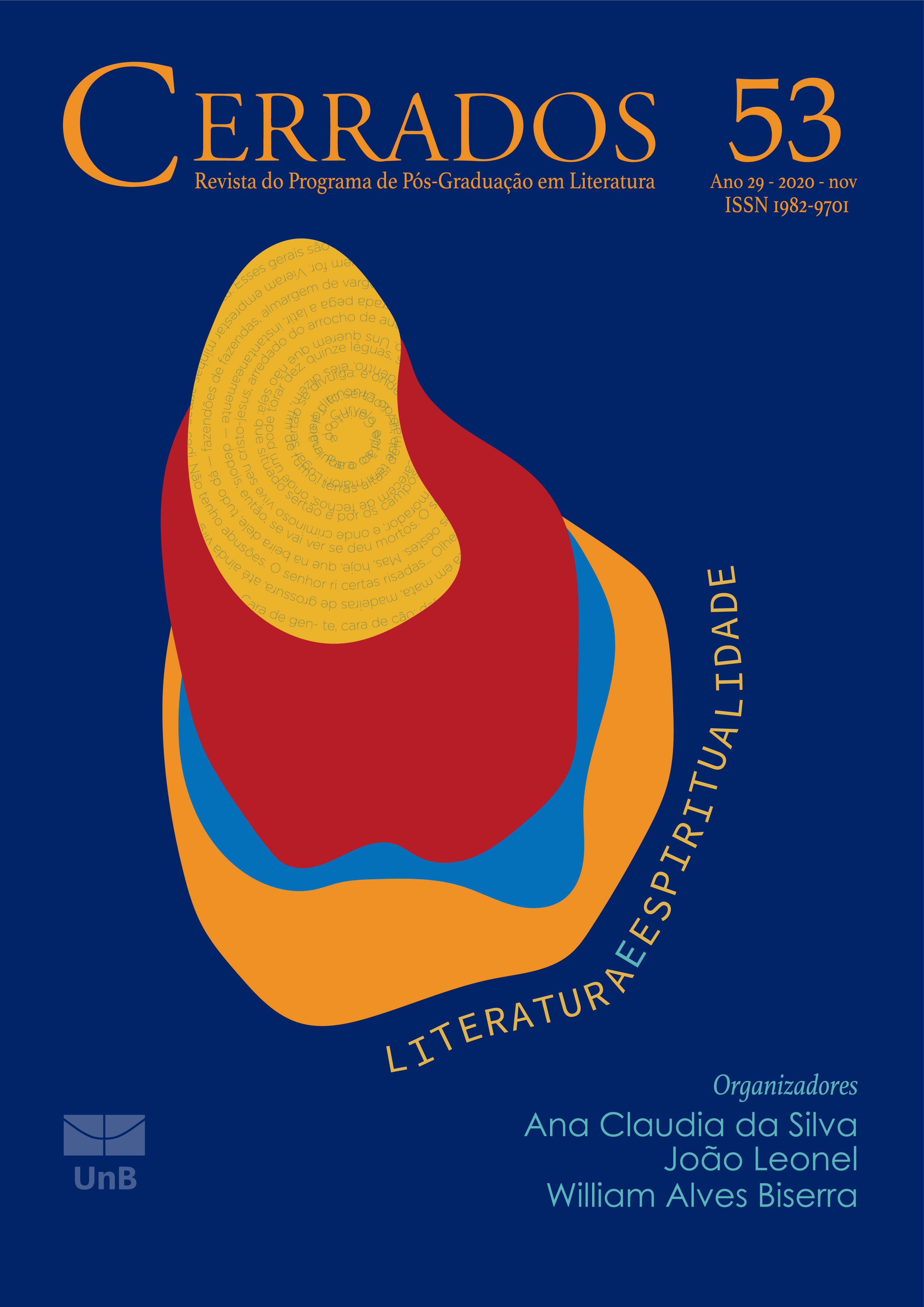 Visualizar v. 29 n. 53 (2020): Dossiê: Literatura e Espiritualidade