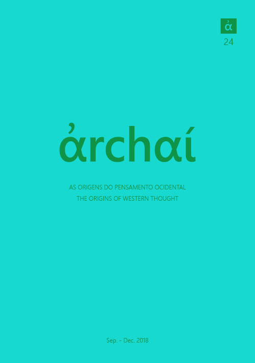 Archai Journal nº24 (September, 2018)