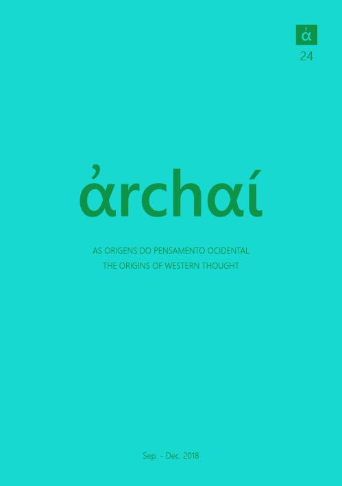 Archai Journal nº24 (September, 2018)