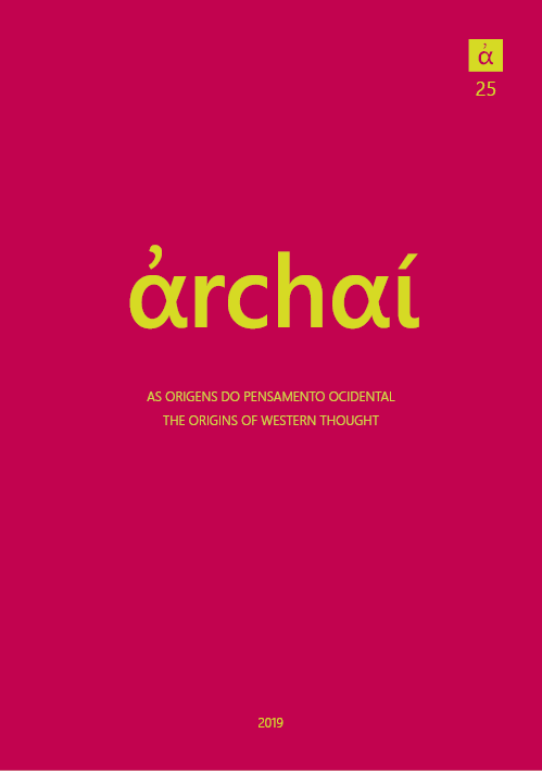 Archai Journal nº25 (2019 [1])