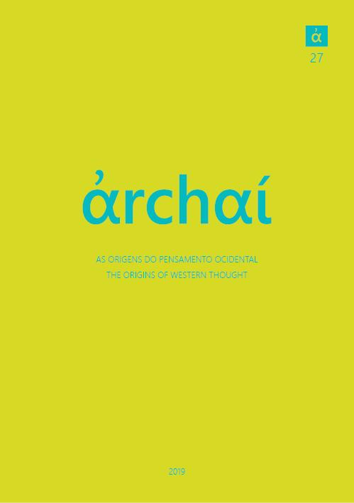 View No. 27 (2019): Archai 27 (2019 [3])