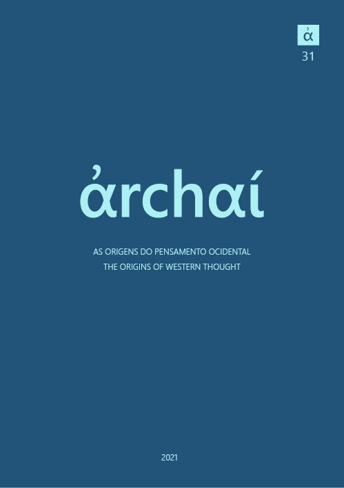 View No. 31 (2021): Archai 31 (2021)