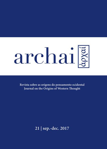 View No. 21 (2017): Revista Archai nº21 (September, 2017)