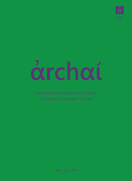 View No. 23 (2018): Archai Journal nº23 (May, 2018)