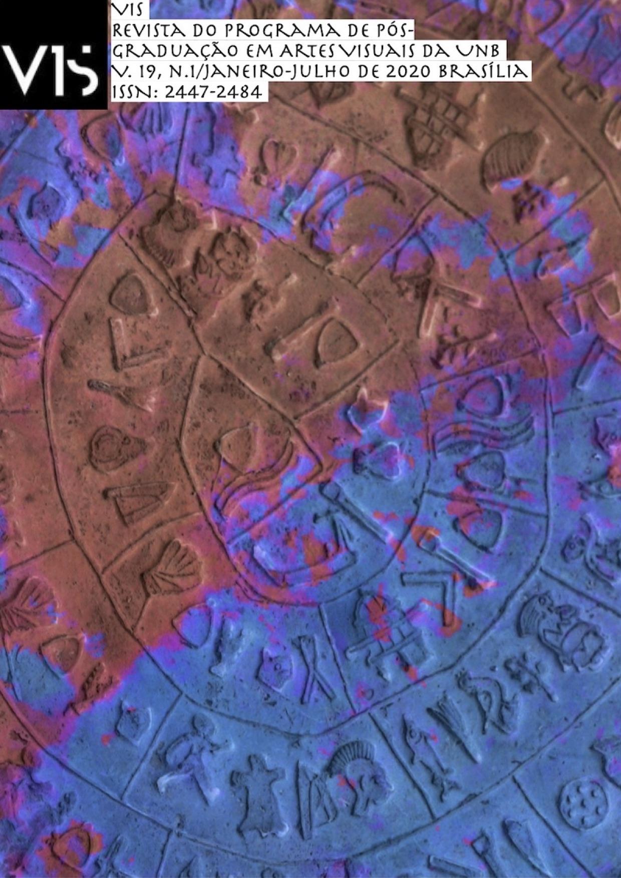 Imagem de Philippe Enrico a partir do Disco de Festo (Museu Arqueológico de Heraklion)