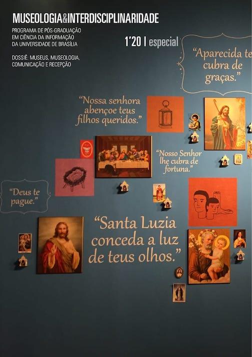 Instalação - Museu de Arte Sacra - Olinda - PE  Foto: Teresa Scheiner, fevereiro de 2020