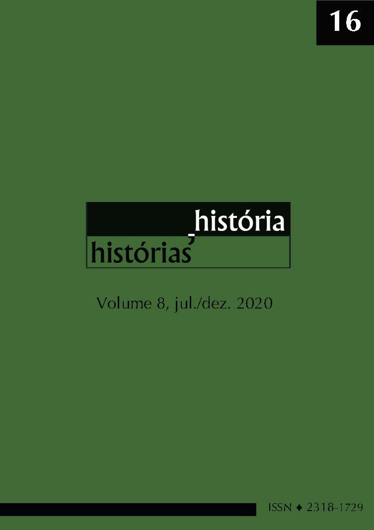Visualizar v. 8 n. 16 (2020): Revista História, Histórias