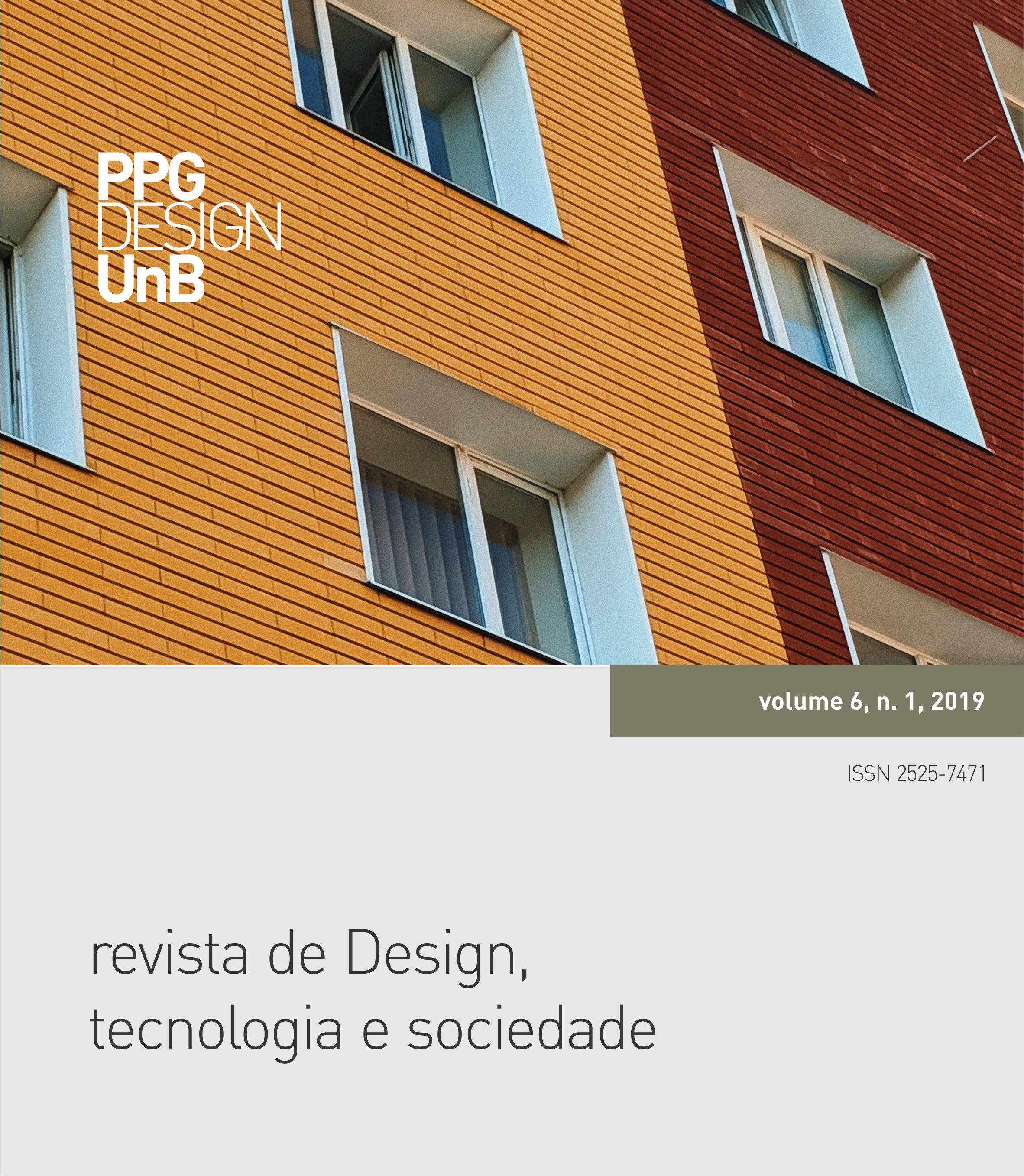 Capa da Revista de Design, Tecnologia e Sociedade