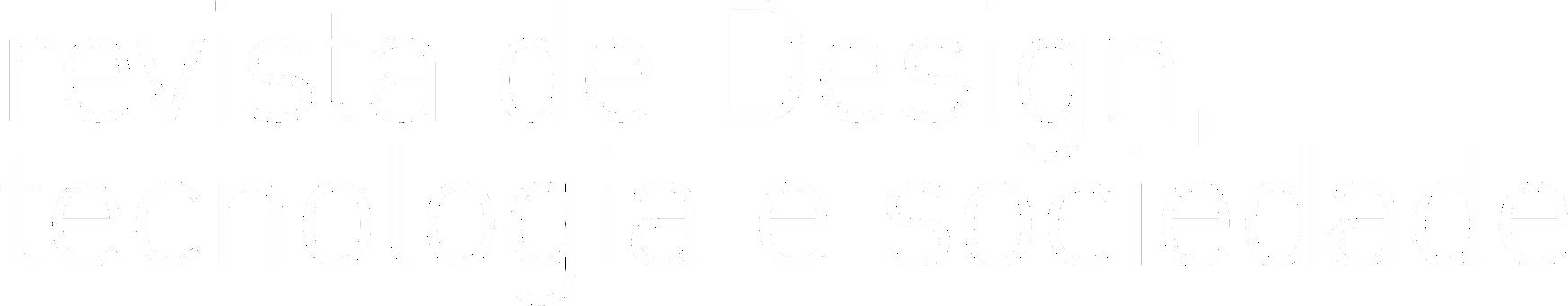Revista de Design, Tecnologia e Sociedade