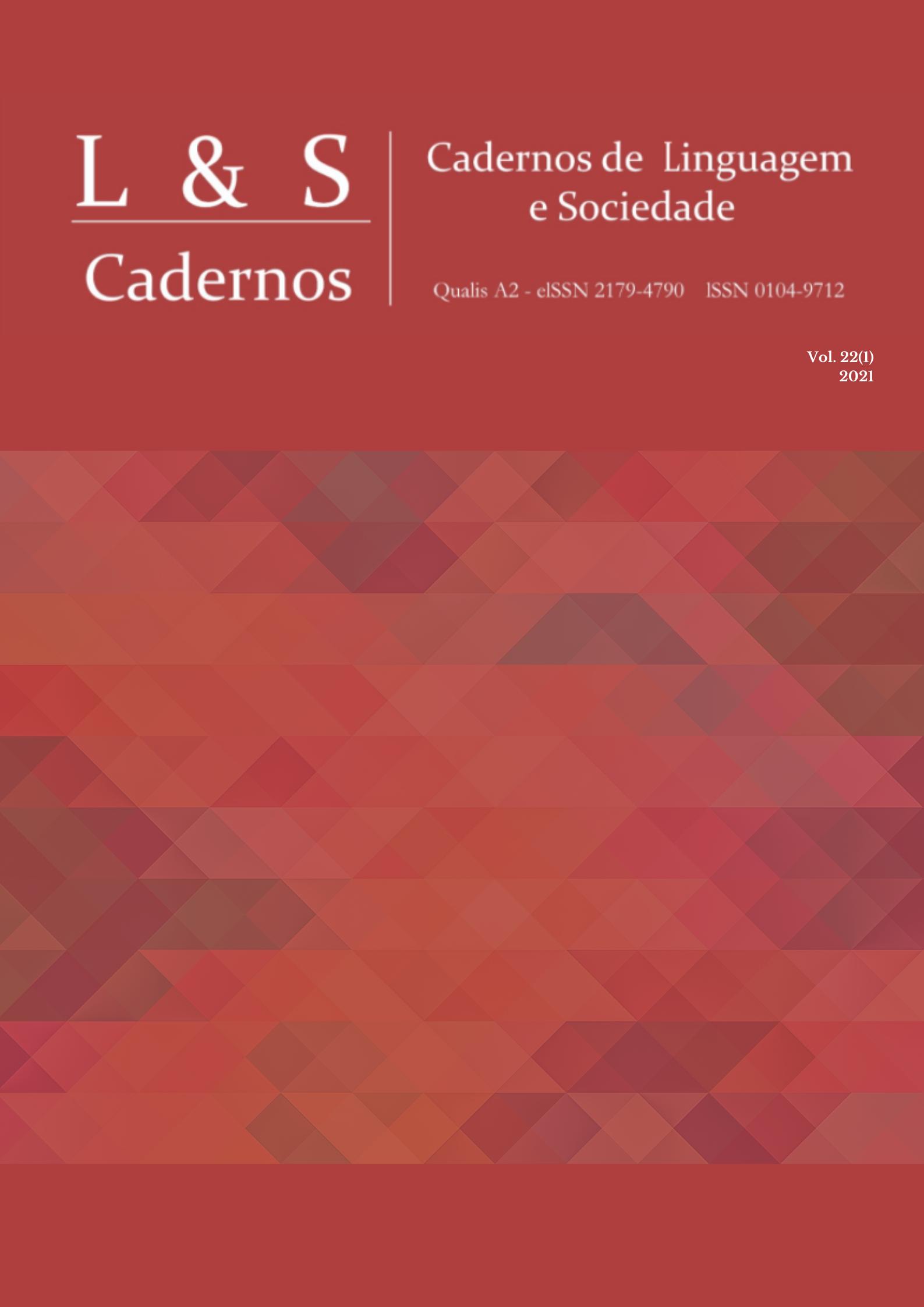 Visualizar v. 22 n. 1 (2021): Dossiê Estudos em Semiótica Social na América Latina e Fluxo contínuo