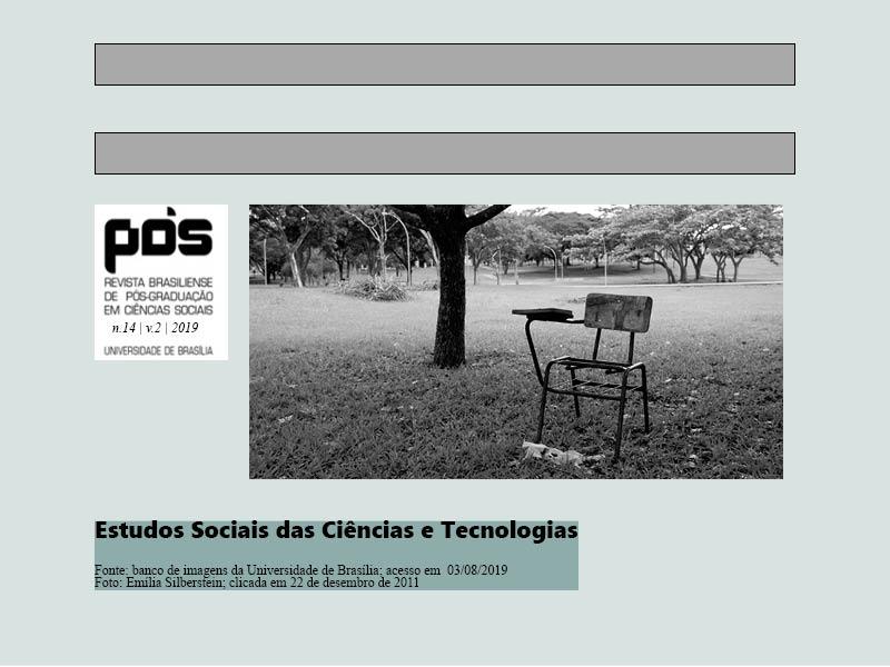 Visualizar v. 14 n. 2 (2019): Estudos Sociais das Ciências e Tecnologias