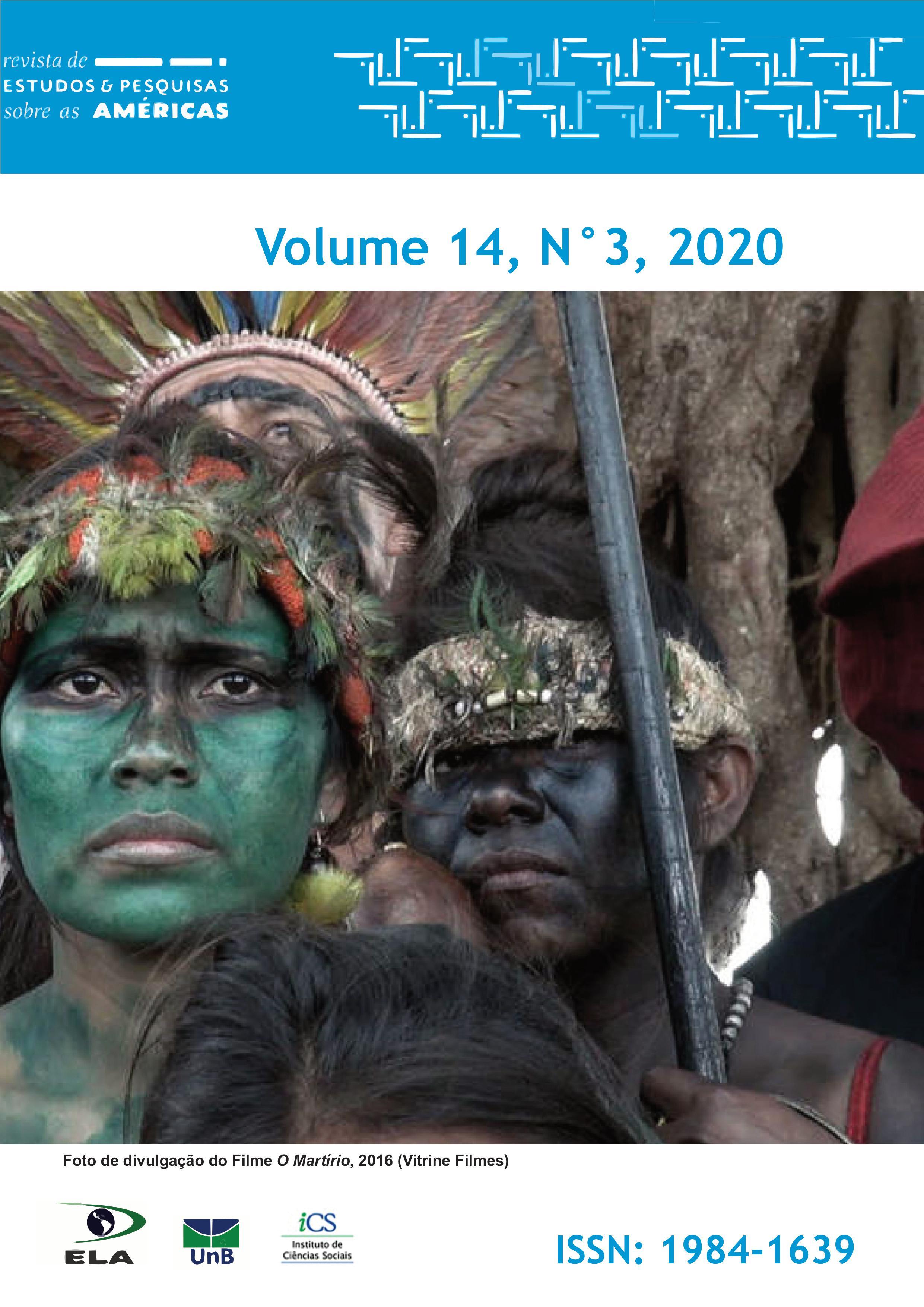 Visualizar v. 14 n. 3 (2020): Dossiê Território e Territorialidade Guarani Continental: Conflitos e Resistências