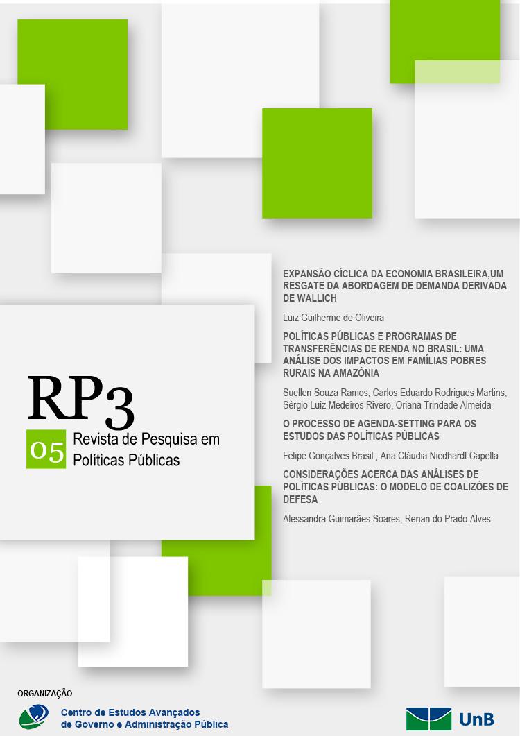 Visualizar n. 1 (2015): RP3 - Revista de Pesquisa em Políticas Públicas