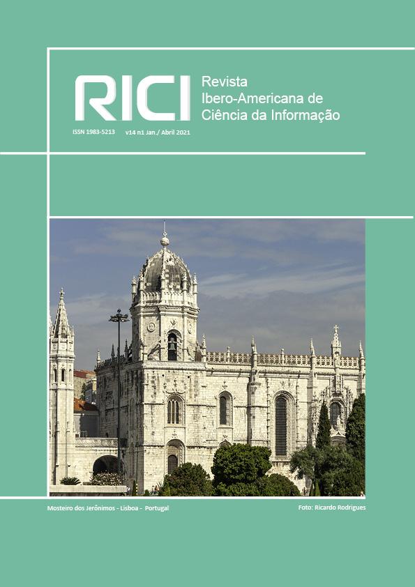 Visualizar v. 14 n. 1 (2021): Revista Ibero-americana de Ciência da Informação