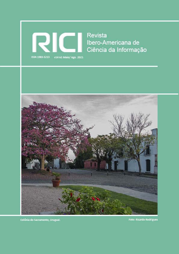 Visualizar v. 14 n. 2 (2021): Revista Ibero-americana de Ciência da Informação
