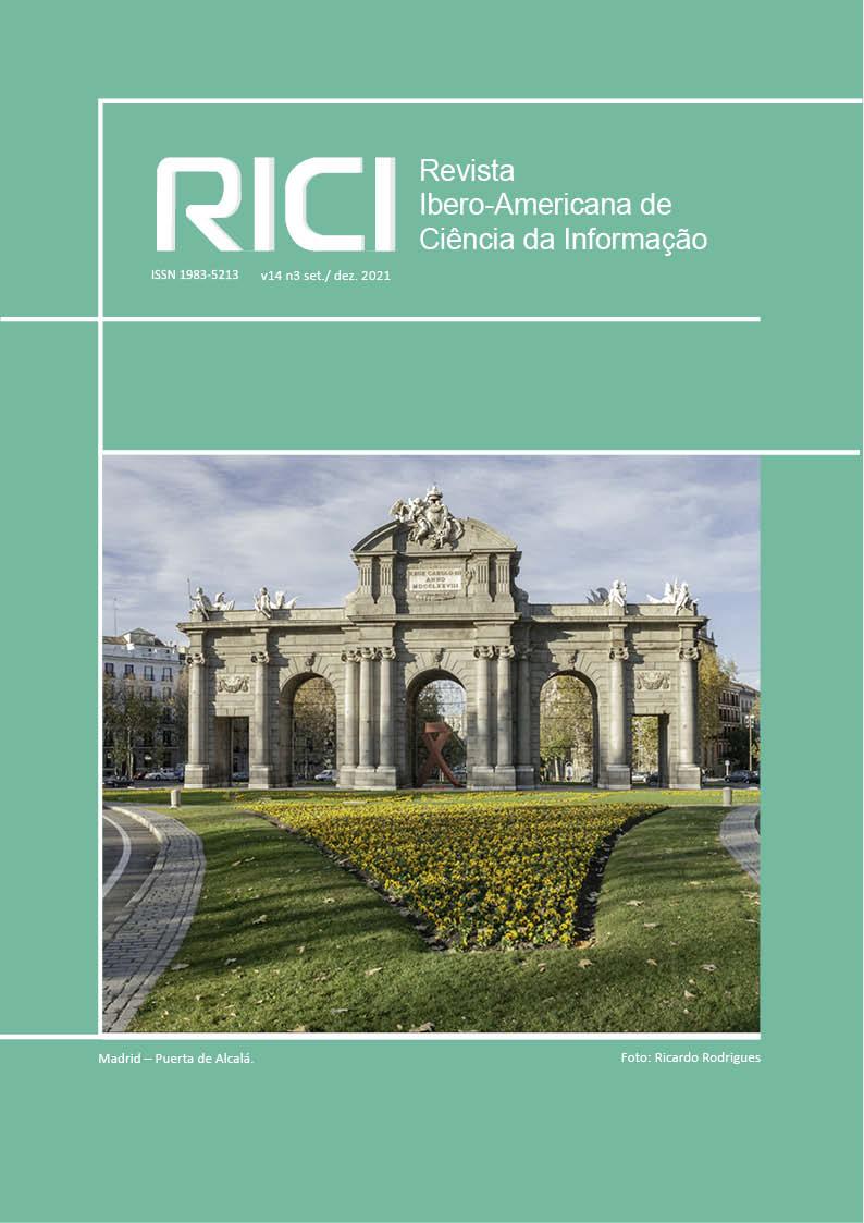 Visualizar v. 14 n. 3 (2021): Revista Ibero-americana de Ciência da Informação