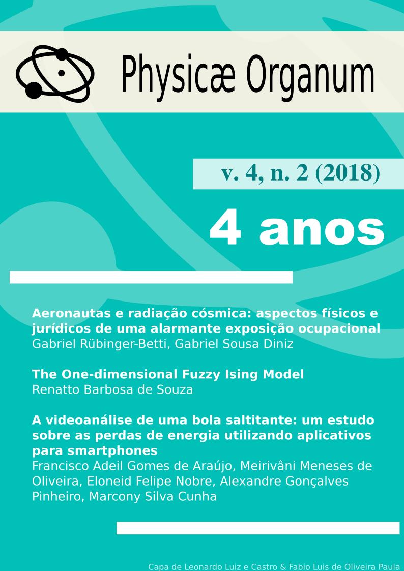 Physicae Organum v.4, n. 2 (2018) - 4 anos