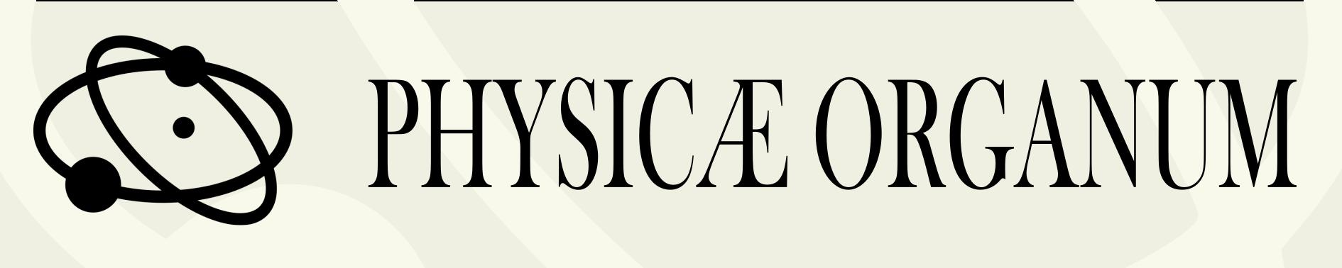 Logomarca Physicae Organum