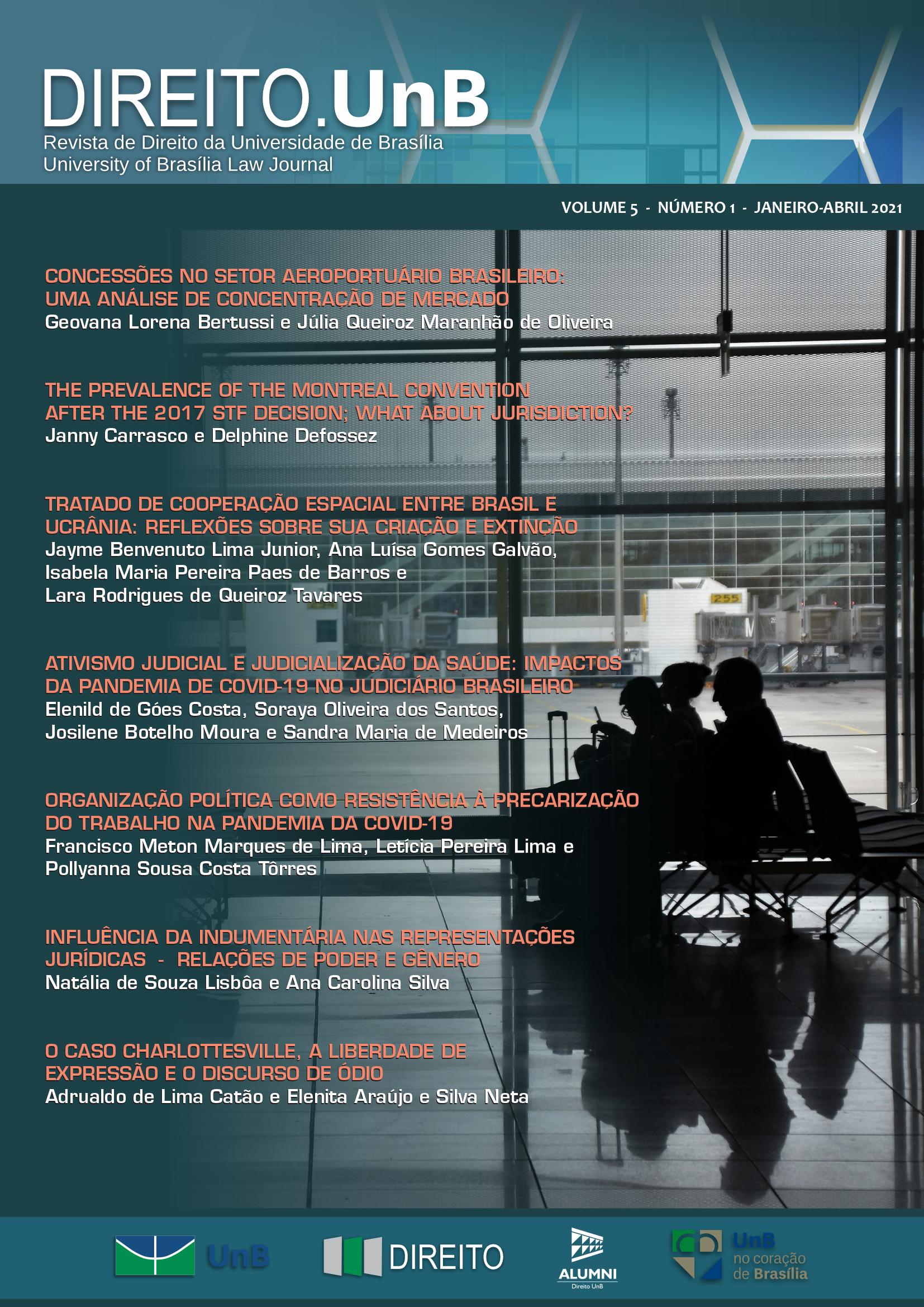 Revista Direito.UnB |Janeiro – Abril, 2021, V. 05, N.1